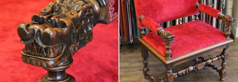 fauteuil henri iv restaure