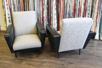 renovation de dossier d un fauteuil 1960