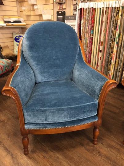 Rénovation d'un fauteuil
