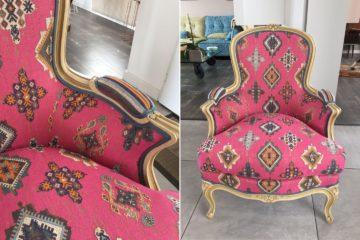Rénovation d'un fauteuil Louis XVI