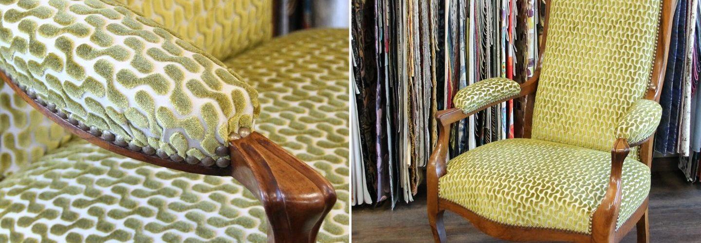 Rénovation fauteuil voltaire maison houles