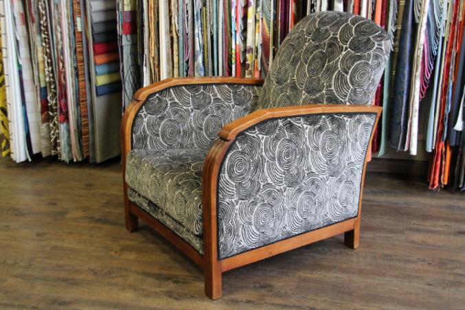 Rénovation du fauteuil années 1930