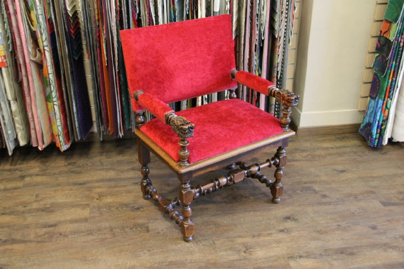 Restauration du fauteuil Henri IV