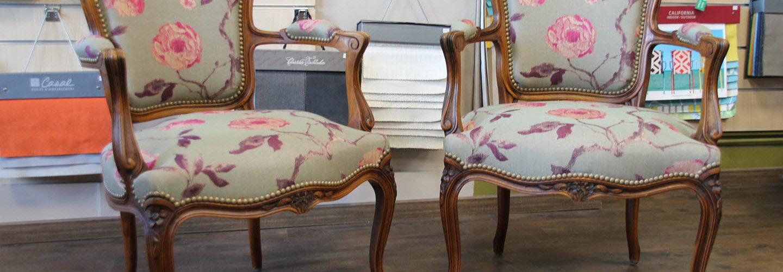Restauration des fauteuils Louis XV